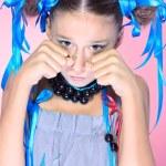 Emotional girl — Stock Photo
