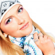 Fashion winter — Stockfoto