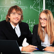 Young tutors — Stock Photo