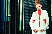 Woman fashion — Stock Photo
