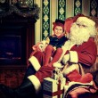 Elf and noel — Stock Photo #14502645