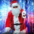 Dj santa — Stock Photo