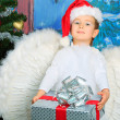 Angel gift - Stock Photo