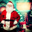 Kind santa — Stock Photo #14502743