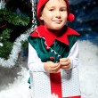 Stock Photo: Little elf