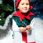 piccolo elfo — Foto Stock