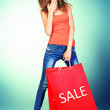Sale bag — Stock Photo #14840011