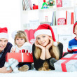 Winter holiday — Stock Photo #14840223