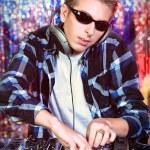 DJ karıştırma — Stok fotoğraf
