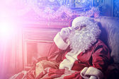 Cool santa claus — Stock Photo