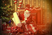 Home of santa — Stock Photo