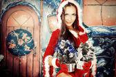 Gifts Christmas — Stock Photo