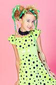 Vestido verde — Foto de Stock