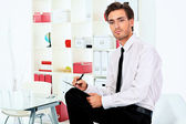 Office worker — Stock Photo