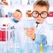 Knowledge kid - Stock Photo