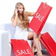 Sale delight — Stock Photo