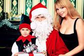 圣诞老人的父亲 — 图库照片