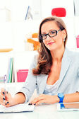 Woman business — Stock Photo