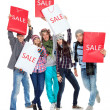 Stock Photo: Emotional sale