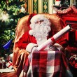 Stock Photo: Home of santa