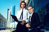 Contemporary business — Stock Photo