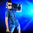 Disco fashion — Stock Photo