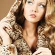 Fur coat — Stock Photo #15949251