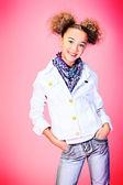 Trendy girl — Stock Photo