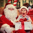 Home santa — Stock Photo #16105005