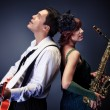 Jazz pair — Stock Photo #16276351
