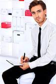 Vedoucí práce — Stock fotografie