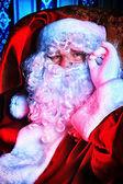 Santa portret — Stockfoto