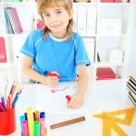 Drawing boy — Stock Photo #16874867