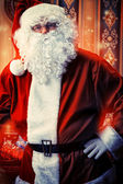 Santa portrait — Stock Photo