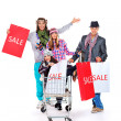 Stock Photo: Fashion sale
