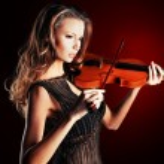 Violinist — Stock Photo #17392383