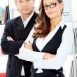 Royalty-Free Stock Photo: Business couple