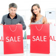 Shopping together — Stock Photo #17440375