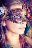 Mystisk flicka — Stockfoto