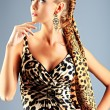 Braid hairstyle - Stock Photo
