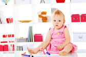 Kiddy-Mädchen — Stockfoto