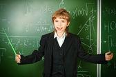 Inteligentny chłopiec — Zdjęcie stockowe
