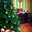 Xmas interior — Stock Photo