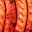 Macro sausages - Stock Photo