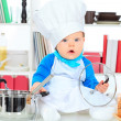 Royalty-Free Stock Photo: In the cook