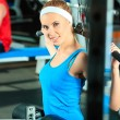 Lifting weight - Stock Photo