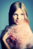 Princess girl — Stock Photo