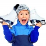 Figure skates — Stock Photo