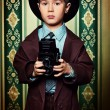 Retro boy — Stockfoto #19098443