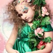 Angelic child - Stock Photo